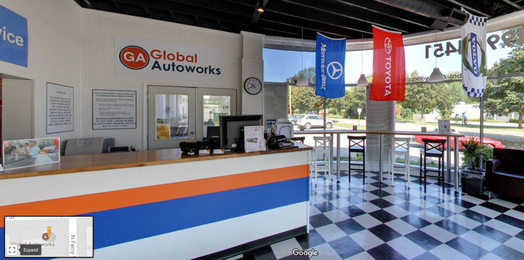 3D Tour - Global Autoworks